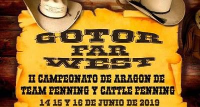 La localidad de Gotor viaja al lejano Oeste este fin de semana con la celebración de la tercera edición del festival Gotor Far West
