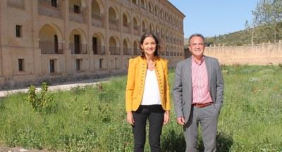 La ministra de Industria, Comercio y Turismo anuncia que el parador de Veruela se pondrá en marcha para el verano del año que viene