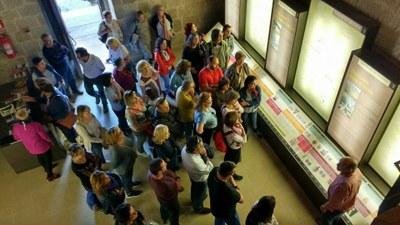 La oficina de turismo que la Diputación de Zaragoza abrió en el torreón de Navardún ya ha atendido a más de 1.400 visitantes