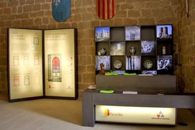 La oficina de turismo que la Diputación de Zaragoza ha abierto en el torreón de Navardún ya ha atendido a más de 600 visitantes