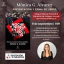 La periodista Mónica González presenta este jueves en la Diputación de Zaragoza su libro 'Noche y niebla en los campos nazis'