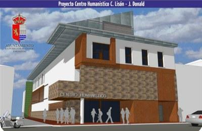 La Puebla de Alfindén y la fundación C. Lisón-J. Donald colocarán mañana la primera piedra de su Centro Humanístico