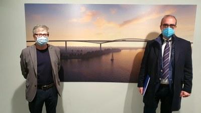 La sala 4º Espacio de la DPZ  muestra en una exposición grandes obras de la ingeniería de puentes y pasarelas del siglo XXI