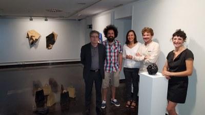 La sala 4º Espacio de DPZ exhibe desde hoy las creaciones de David Cantarero y Rafael Fuster en la exposición 'Pueblos en Arte'