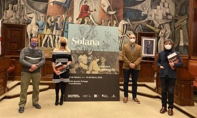 La sala Zuloaga de Fuendetodos contrapone en una exposición la oscuridad y la sordidez de los grabados de Goya y de Gutiérrez Solana