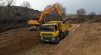 Las máquinas de la Diputación de Zaragoza acondicionaron más de 2.900 kilómetros de caminos a lo largo del año pasado