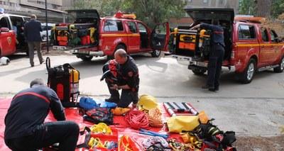 Los bomberos de la Diputación de Zaragoza incorporan nueve vehículos de intervención rápida para recortar sus tiempos de respuesta