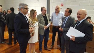 Los grupos de la Diputación de Zaragoza se unen para reclamar el mantenimiento del servicio postal en los municipios de la provincia