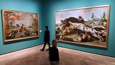 Más de 10.000 personas han visitado ya la exposición sobre la colección Santamarca organizada por la DPZ en el palacio de Sástago