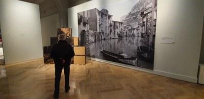 Más de 10.000 personas han visitado ya la exposición 'Heraldo. 125 años de fotografías'  en el palacio de Sástago