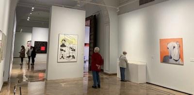 Más de 12.300 personas han visitado la exposición del XXXI Premio de Arte Santa Isabel de la Diputación de Zaragoza