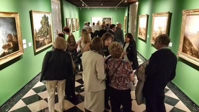Más de 20.000 personas ha visitado ya la exposición sobre la colección Santamarca organizada por la DPZ en el palacio de Sástago