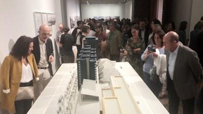 Más de 40.000 personas han visitado la exposición de la Diputación de Zaragoza sobre la obra de Rafael Moneo en Aragón