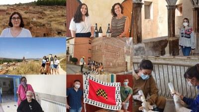 Más de 40 estudiantes han participado en 2020 en el 'Erasmus rural' de la Diputación de Zaragoza y la Universidad de Zaragoza