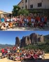 Más de 400 niños y jóvenes de entre 8 y 15 años disfrutan este verano de las colonias de inglés de la Diputación de Zaragoza