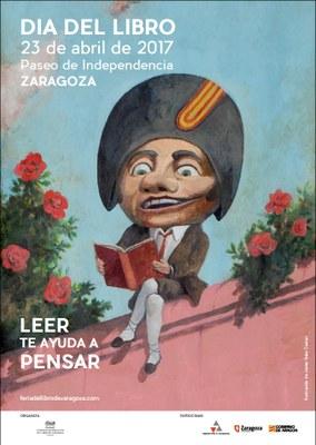 Más de cien escritores y 101 expositores celebrarán con los zaragozanos el Día del Libro en el paseo de la Independencia