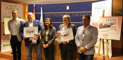 Novallas y Remolinos recorrerán España en 11 millones de cupones de la ONCE  los días 2 y 4 de abril