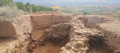Otra excavación de la DPZ en Ateca halla más restos del poblado islámico en el que el Cantar de Mío Cid situó la conquista y la batalla de Alcocer