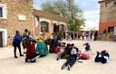 Ouka Leele fotografía al pueblo de Fuendetodos para su 'Disparate', que se expondrá en junio en la sala Zuloaga junto a toda su obra gráfica