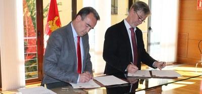 Pedro Santisteve y Sánchez Quero firman un convenio para los barrios rurales por 9 millones de euros entre 2017 y 2019