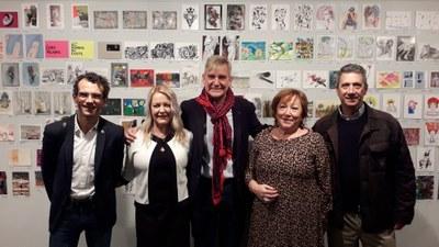 Postales desde el Limbo pone a la venta desde mañana más de 1.700 obras donadas por más de 600 artistas a beneficio de Proyecto Hombre