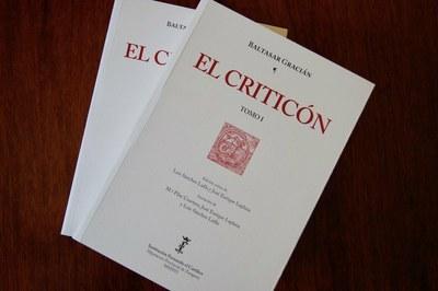 Premio RAE 2017 para la edición de 'El Criticón' de Gracián con la que la Institución Fernando el Católico de la DPZ celebró su publicación 3.500