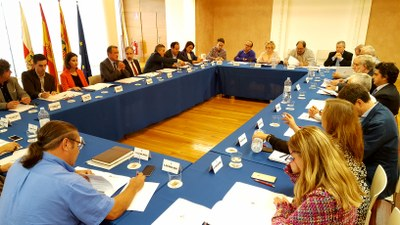 Primera sesión de trabajo del Consejo Provincial de Desarrollo Rural y Contra la Despoblación de la Diputación de Zaragoza