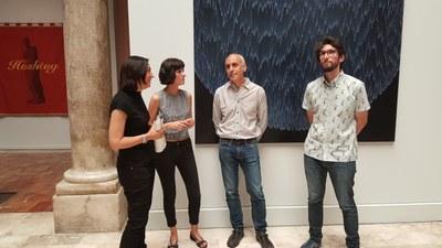 Roberto Coromina gana el premio de arte Santa Isabel de Aragón, Reina de Portugal