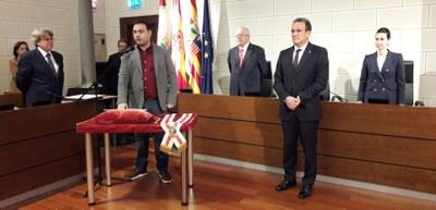 Rubén Estévez toma posesión como nuevo diputado provincial del grupo En Común