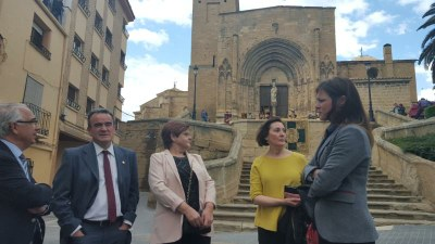 Sánchez Quero asiste a la recreación histórica del juramento de los compromisarios de Caspe