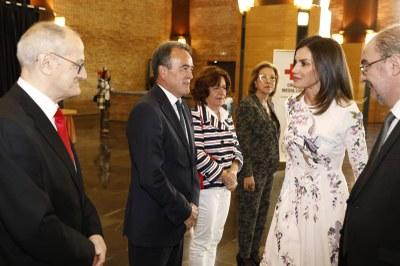 Sánchez Quero asiste al acto central del Día Mundial de la Cruz Roja