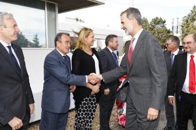 Sánchez Quero asiste en Figueruelas al inicio de la fabricación del nuevo Opel Corsa