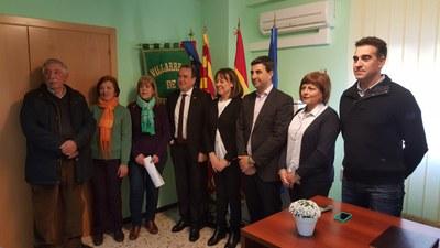 Sánchez Quero inicia una ronda de visitas por la provincia