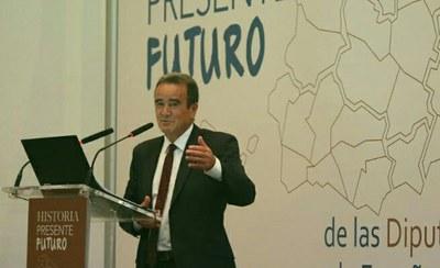 Sánchez Quero reivindica el papel de las diputaciones contra la despoblación rural en un foro en Alicante