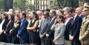 Sánchez Quero participa en el homenaje a las víctimas de los atentados de Barcelona
