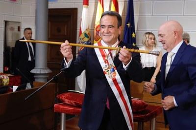 Sánchez Quero, reelegido presidente de la Diputación de Zaragoza con los votos del PSOE y En Común-IU