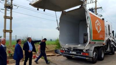 Sánchez Quero visita la empresa FM5 Desarrollos Industriales para conocer tecnologías de trasladado de residuos