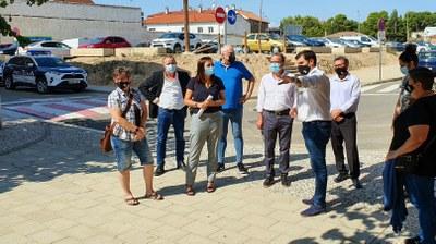 Sánchez Quero visita María de Huerva para conocer las necesidades y los proyectos del municipio
