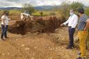 Sánchez Quero visita varios de los municipios afectados por las fuertes lluvias y tormentas que ayer barrieron la provincia