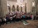 Seis corales y cerca de mil personas participarán este domingo en el monasterio de Veruela en la VIII edición de las Jornadas Coralistas