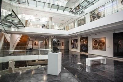 Últimos días para visitar la colección de arte contemporáneo de la Diputación de Zaragoza en el Centro de Arte y Exposiciones de Ejea
