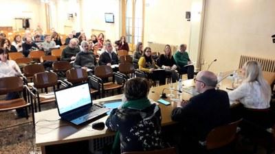 Una treintena de entidades participan en la primera reunión con los agentes locales del proyecto europeo MOMAr que lidera la DPZ
