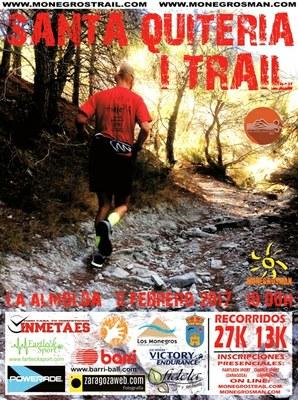 Unos quinientos atletas participarán este domingo en la primera edición de la Trail Santa Quiteria