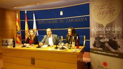 Veintiséis establecimientos de la provincia de Zaragoza participan del 26 de enero al 25 de febrero en la III edición de 'Descubre la trufa'